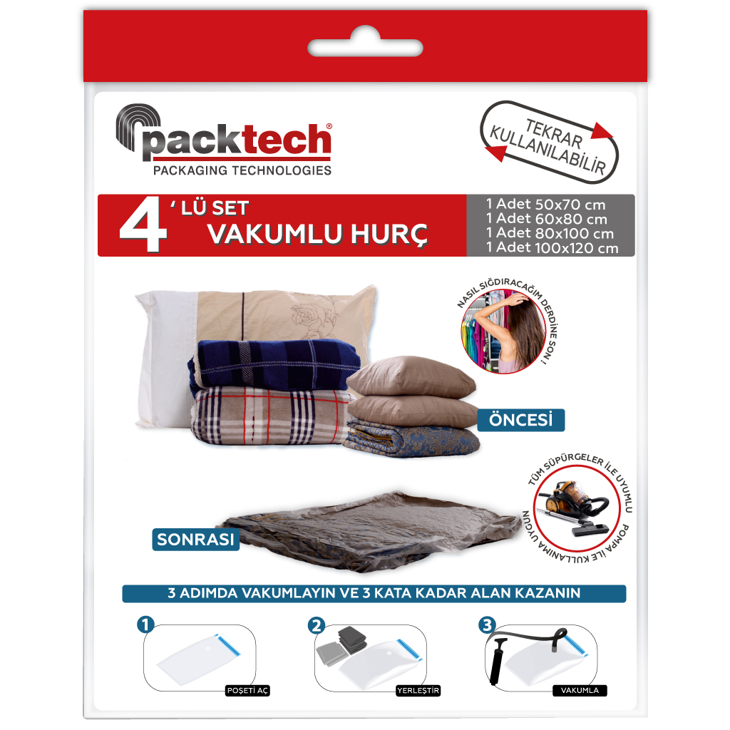 Packtech Vacuum Storage Bag