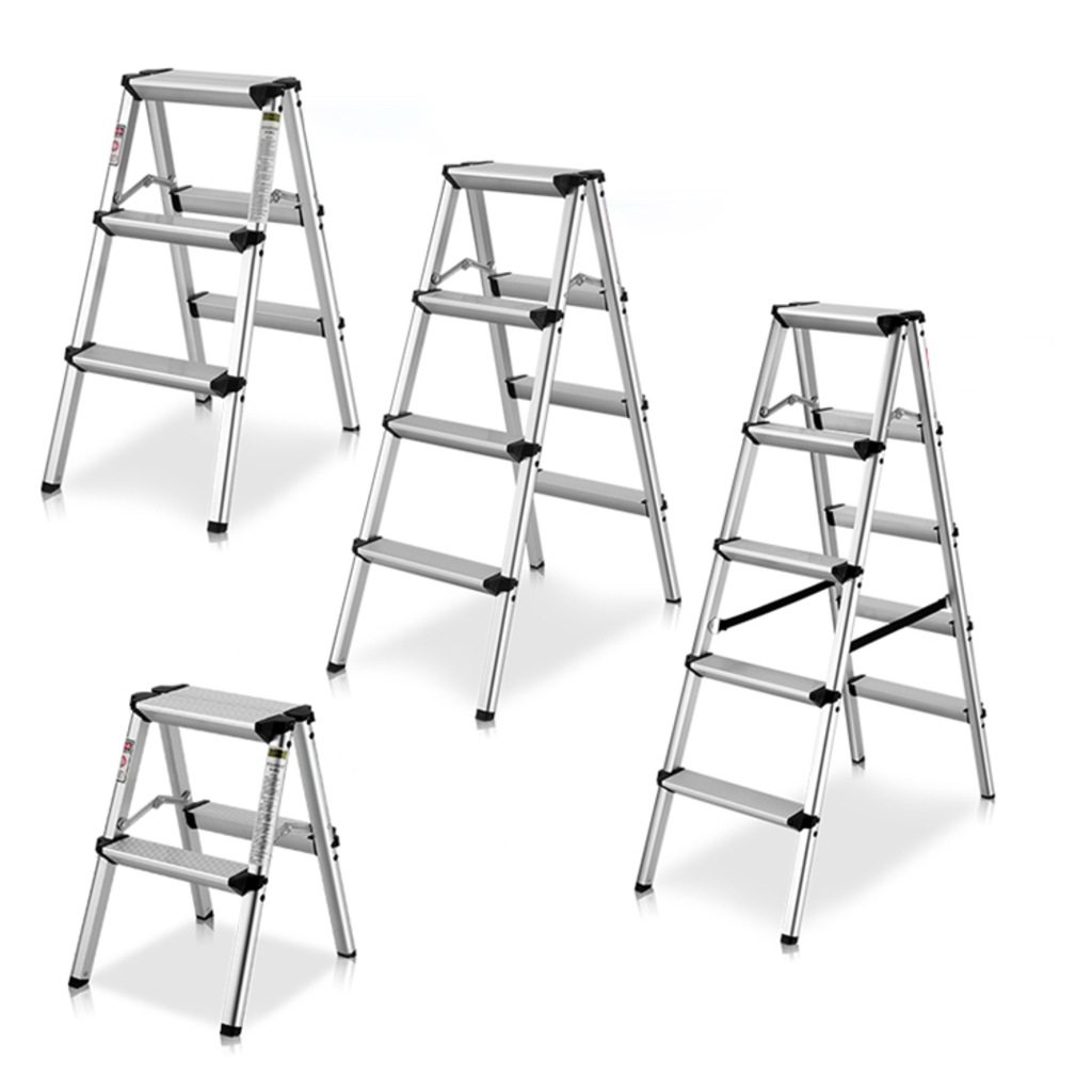 Packtech Household Aluminum Doubleside Ladder